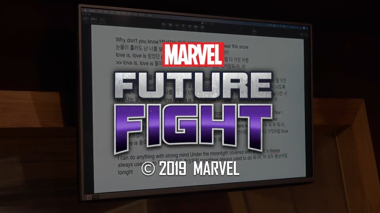 Busters Hyung Seo On Marvel Future Fight S Luna Snow Youtube