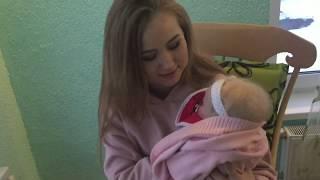 Обложка на видео о Наш день у бабушки. Видео с куклой реборн.
