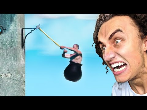 WARNING! PLAY THIS GAME AT YOUR OWN RISK! [RAGE!!!] (Getting Over It)