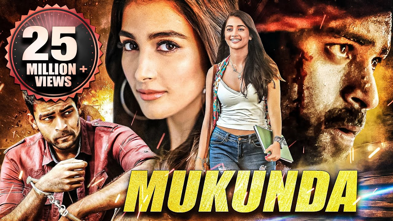 Download Mukunda   South Indian Hindi Dubbed Full Movie   Varun Tej, Pooja Hegde, Prakash Raj, Rao Ramesh