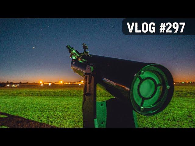 VLOG #297 / Jupiter & Saturn CONJUNCTION! / December 21, 2020