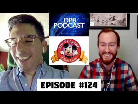 DPB Podcast #124: Disney Pin News & Chat With a Disney Pin Designer!