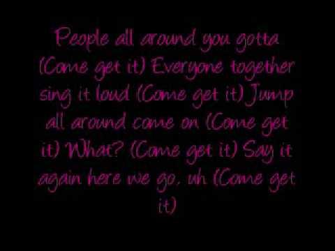 Aaron's Party (Come Get It) w/ Lyrics - Aaron Carter