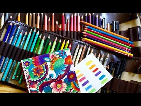 2 coloriage anti stress art th rapie quels crayons de couleur utiliser youtube. Black Bedroom Furniture Sets. Home Design Ideas