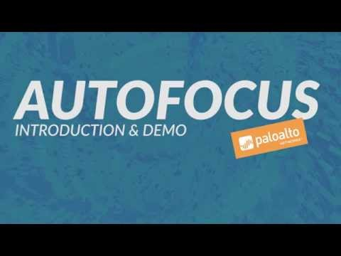 AutoFocus - Introduction & Demo