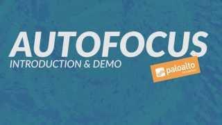 AutoFocus - Introduction & Demo