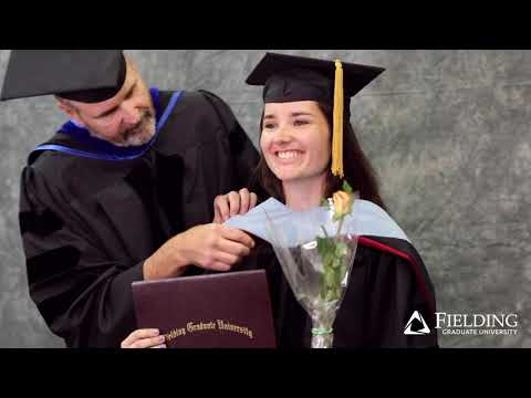 Fielding Graduate University |  Hooding Demo For Students