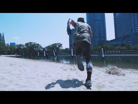 Reebok FITNESS BATTLE RACE ~Beach Session~ 2016 in OSAKA