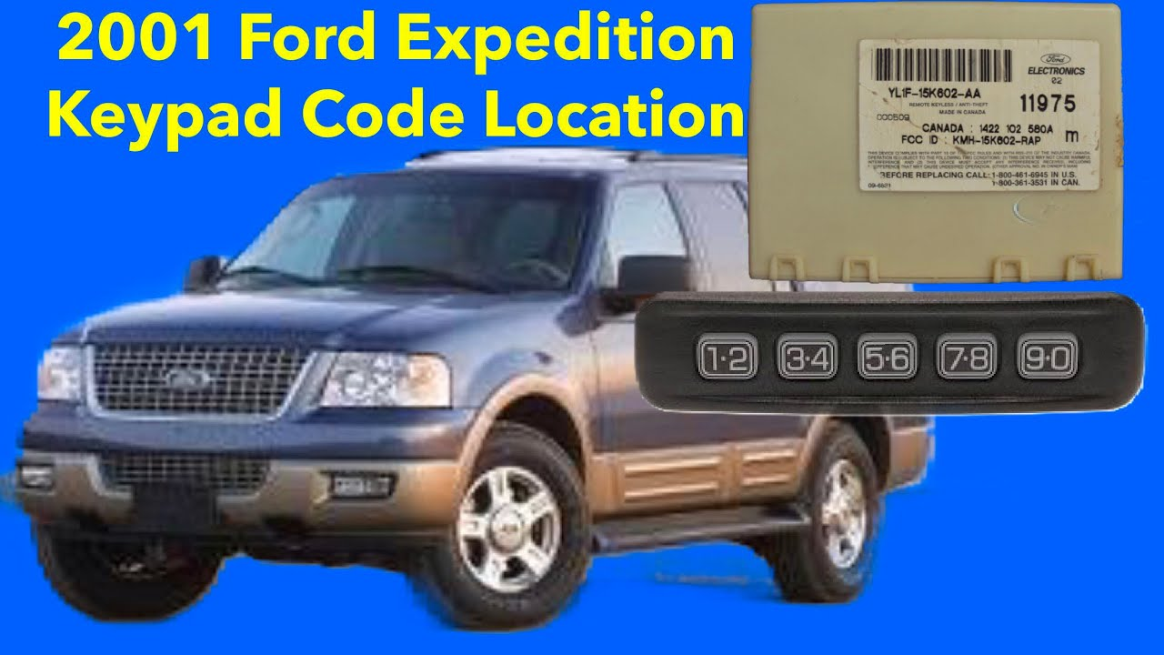 Keyless Entry Remote Transmitter 1998 1999 2000 2001 2002 2003 Ford Expedition