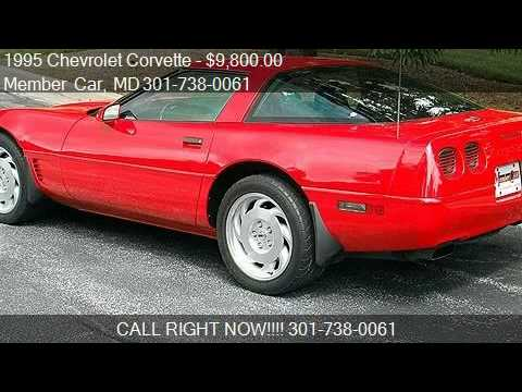 1995 chevrolet corvette coupe one owner for sale in. Black Bedroom Furniture Sets. Home Design Ideas