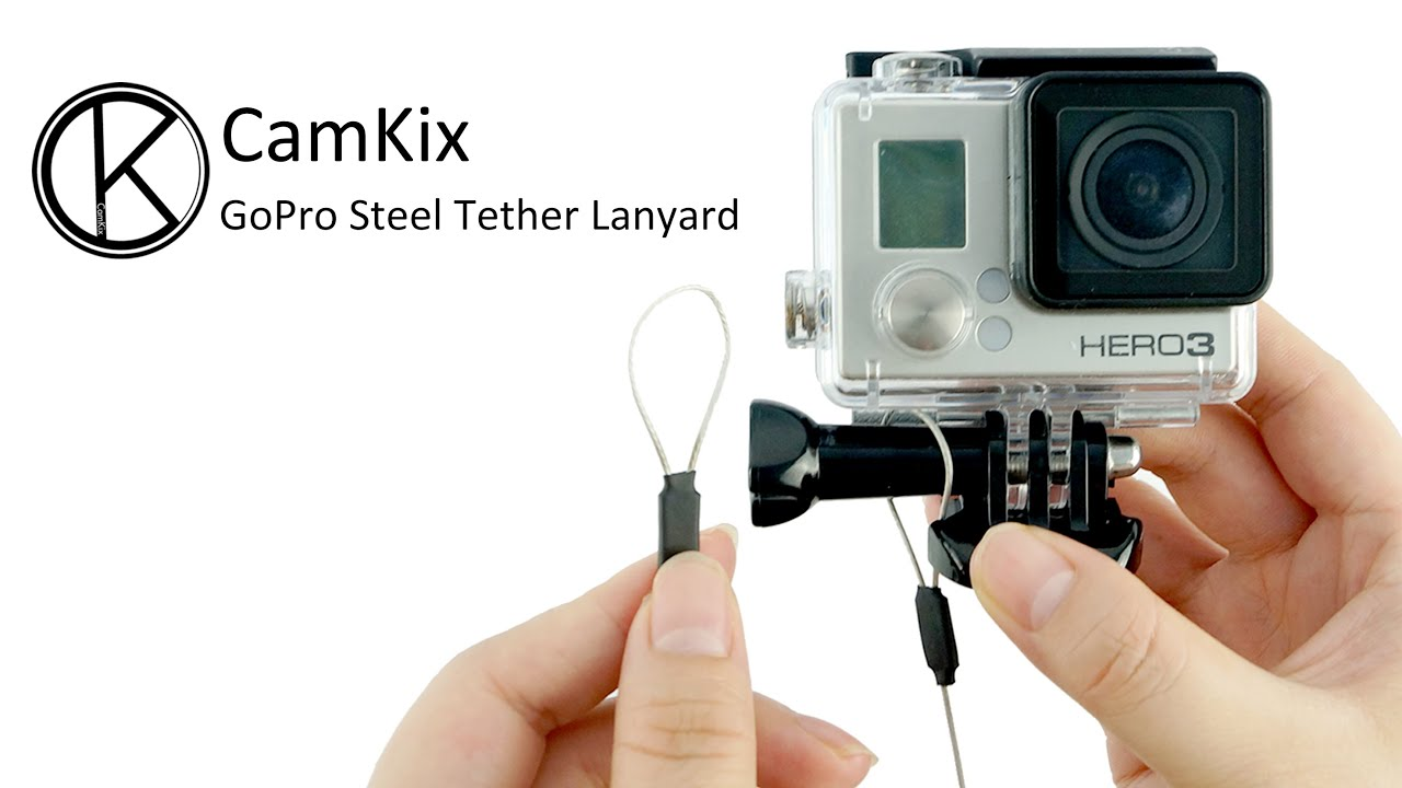 GoPro Accessory - Fully Customizable Stainless Steel Tether Lanyard ...