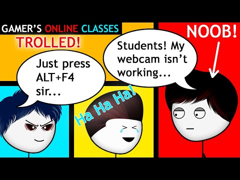 When a Gamer has Online Classes   Axzyte