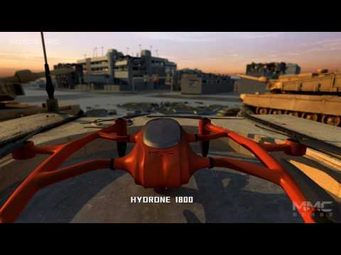 MMC Hydrogen Fuel Cell Drone HyDrone 1800, Hydrogen Powered UAV for Military Application