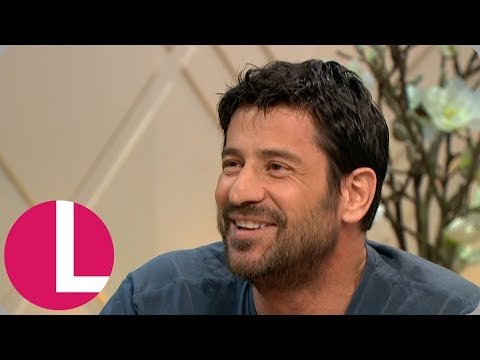 Alexis Georgoulis Doesn't Mind Being Called the Greek George Clooney! | Lorraine