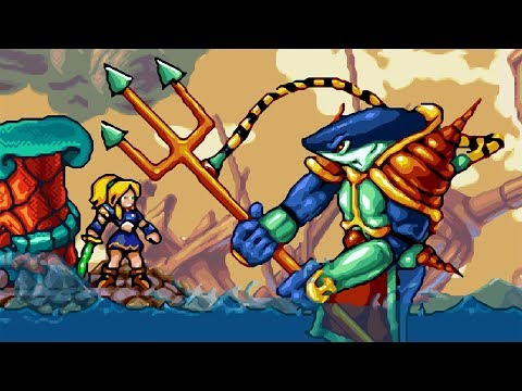 Lady Sia (GBA) - All Bosses (No Damage & Ending)