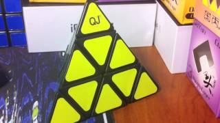 speedcubeshop qj pyraminx traxxas lube unboxing