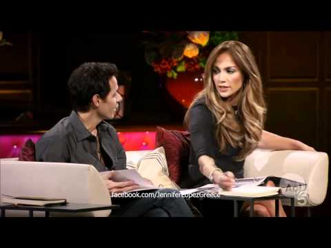 Q'Viva: Marc Anthony Checks Out A Dancer In Front Of JLo
