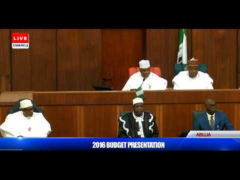 Senate President Welcomes Pres. Buhari To The Joint Session 22/12/15