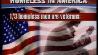 HOMELESS VETERANS ON THE STREETS OF AMERICA