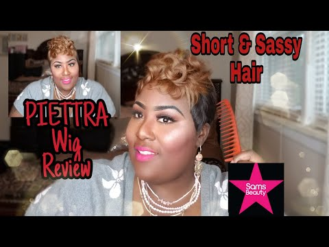 Honey Blonde Short & Sassy Piettra Wig