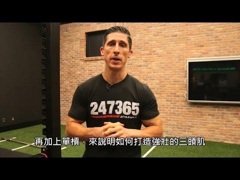 手臂的徒手訓練 (中文字幕)