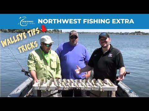 Expert Walleye Fishing Tips On Washington's Moses Lake