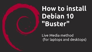 How to install Debian 10