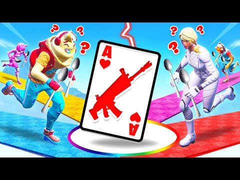 SPOONS CREATIVE Card Game *NEW* Game Mode in Fortnite Battle Royale
