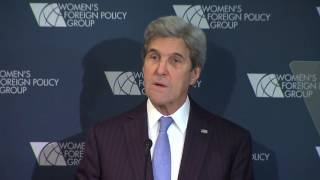 Video Secretary Kerry Remarks at the Women's Foreign Policy Group Conference download MP3, 3GP, MP4, WEBM, AVI, FLV Juli 2018