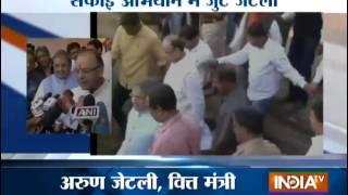 Arun Jaitley Adopts Karnali Group Panchayat - India TV