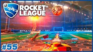 Patlak teker I Rocket League Türkçe Multiplayer I 55. Bölüm