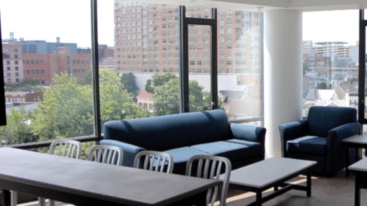 College Apartments Inside college avenue apartments transform rutgers housing - youtube