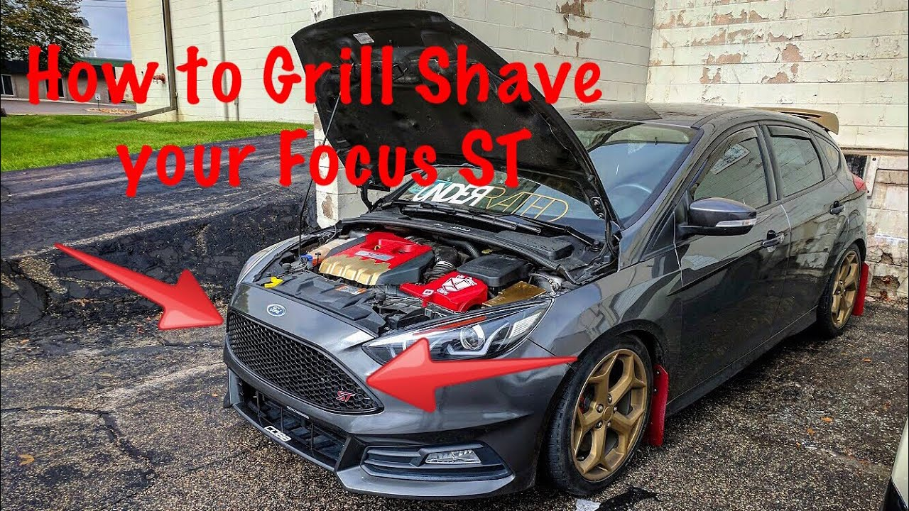 Focus St Gets A Grill Shave Youtube