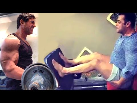 All Bollywood Celebs Gym Bodybuilding Workout Videos - Salman Khan,John Abraham,Deepika,Shahid,Alia