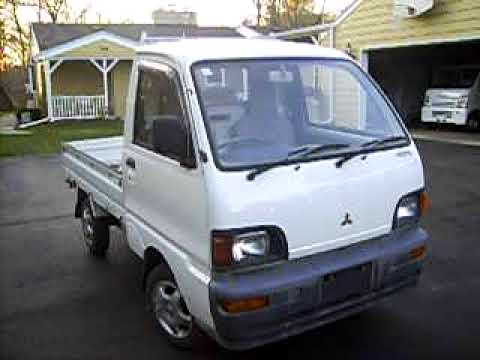 badgerland mini trucks inventory 1995 mitsubishi minicab 4x4 u42t rh youtube com 2007 Mitsubishi Outlander Fuse Box Mitsubishi Galant Fuse Box