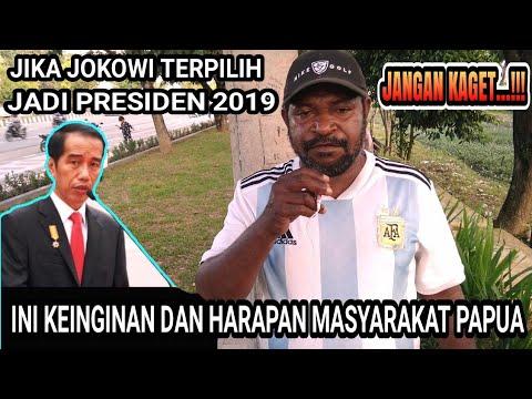 Viral..!!! KEINGINAN DAN HARAPAN MASYARAKAT PAPUA JIKA JOKOWI JADI PRESIDEN TAHUN 2019