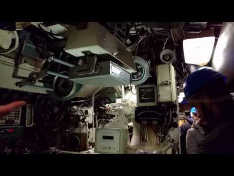 "Sala comando sottomarino ""Enrico Toti"""