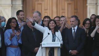 La Socialista Anne Hidalgo Proclama Su Victoria Nuevamente En París