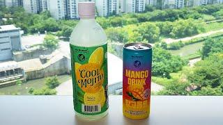 2 Korean Cool Drinks 노브랜드 쿨모히또…