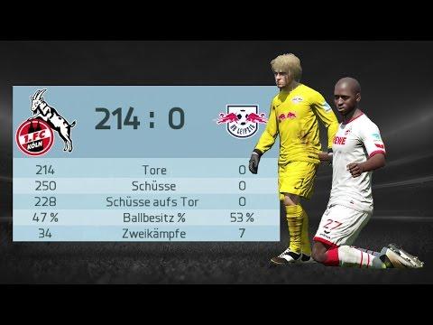 FIFA 16 | Höchster Sieg | Highest Score | 1. FC Köln vs. RB Leipzig