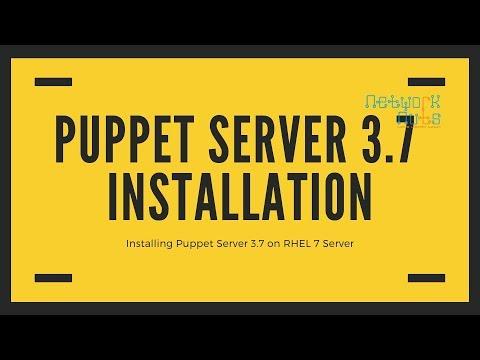 Puppet Enterprise 3.7 Installation on RHEL 7