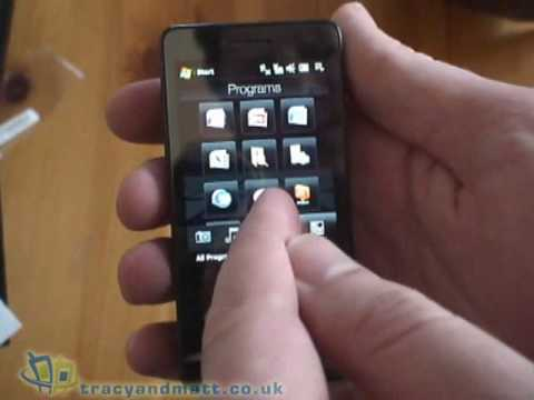 HTC Touch Pro unboxed