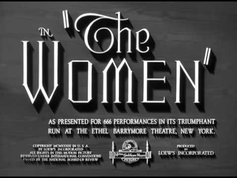 The Women (1939) -- OPENING TITLE SEQUENCE