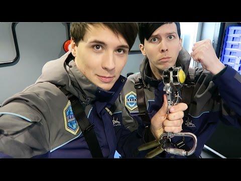 Dan and Phil CLIMB UP THE O2! | The BRIT Awards 2016