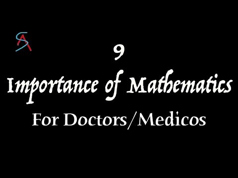 9 Importance of Mathematics for Doctors/Medical Professionals