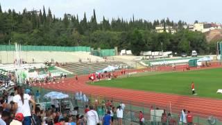 Ивет Лалова бягане 100 м. жени на европейското по лека атлетика в Стара Загора