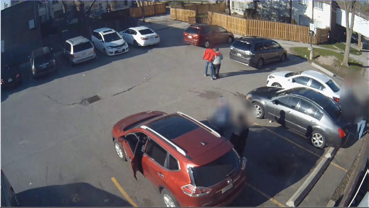 @TorontoPolice 23 Division Shooting Investigation | CCTV Suspect Video