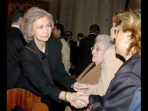 SM Reina Sofia de España/ HM Queen Sofia of Spain