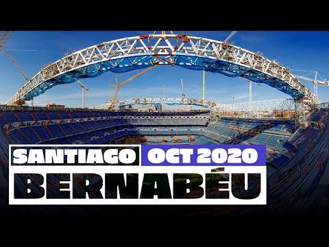 🏟  Real Madrid's new Santiago Bernabéu stadium works (October 2020)