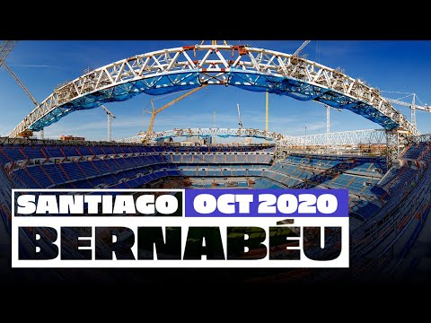 ????  Real Madrid's new Santiago Bernabéu stadium works (October 2020)